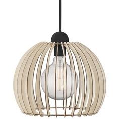 Lampa wisząca Chino 30 drewno