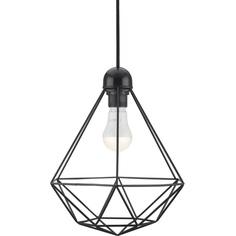 Druciana lampa wisząca Tees czarna Nordlux