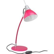 Lampa dziecięca biurkowa Jenny Różowa Brilliant na biurko do pokoju dziecięcego i młodzieżowego.