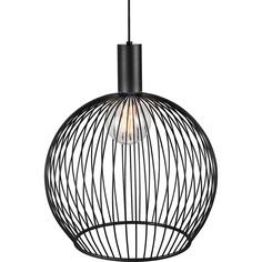 Lampa wisząca Aver 50 czarna