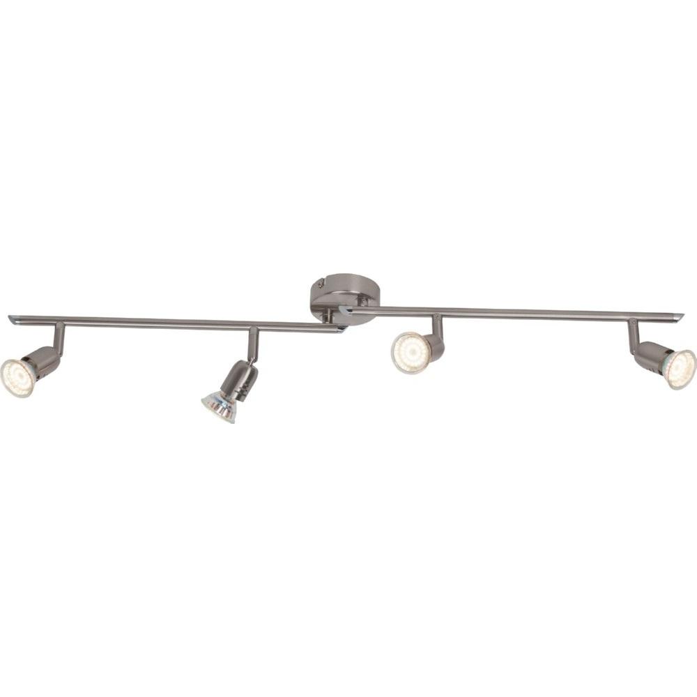 Plafon sufitowy Loona LED satynowy chrom