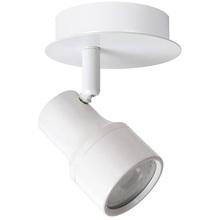 Reflektor sufitowy nowoczesny Sirene Led Biały Lucide do kuchni, przedpokoju i sypialni.