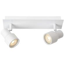 Reflektor sufitowy nowoczesny Sirene II Led Biały Lucide do kuchni, przedpokoju i sypialni.