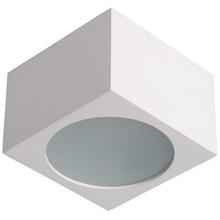 Plafon zewnętrzny kwadratowy Lily 9 Biały Lucide na taras.