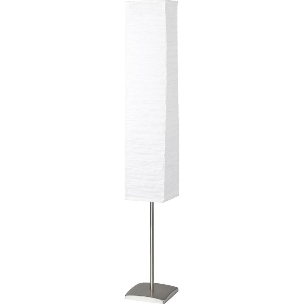 Lampa stojąca Nerva tytanowa biała