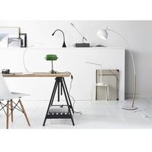 Lampa biurkowa minimalistyczna Emi Led Lucide do gabinetu i pracowni.