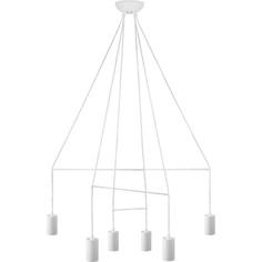 Lampa wisząca IMBRIA  VI biała