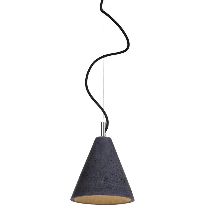 Lampa wisząca  KOBE 1 LoftLight czarna