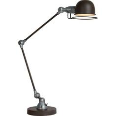 Lampa biurkowa HONORE rdzawo brązowa