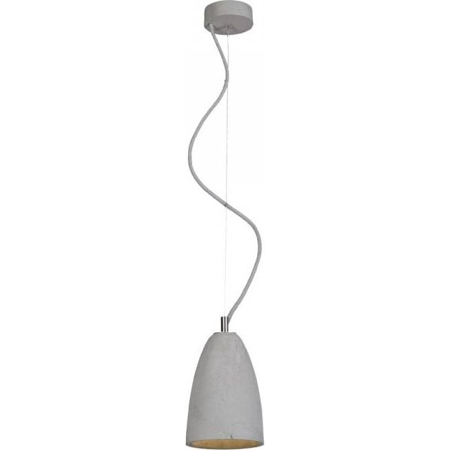 Lampa wisząca  Febe S LoftLight naturalna stal
