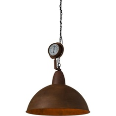 Lampa wisząca  Top Gauge LOFTLIGHT brązowa-rdzawa