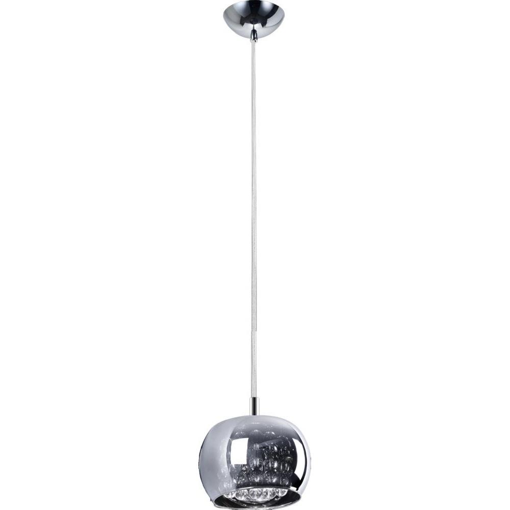Lampa wisząca CRYSTAL 1xG9 chrom
