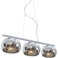 Lampa wisząca CRYSTAL 22 cm 3xG9 chrom