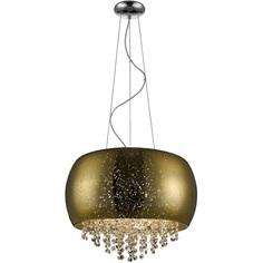 Lampa wisząca VISTA 5xG9 złota/przeźroczysta 40 Zuma Line