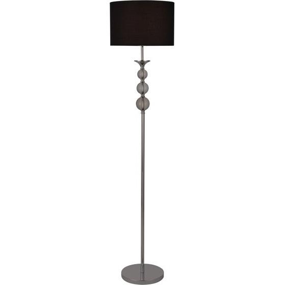 Lampa podłogowa REA czarna