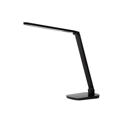 Lampa biurkowa minimalistyczna Vario Led Czarna Lucide do gabinetu i pracowni.