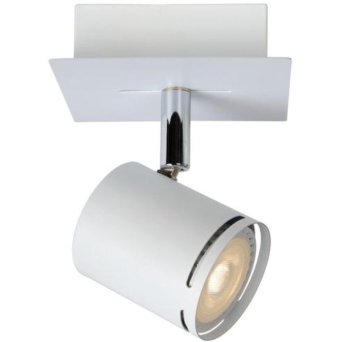 Reflektor sufitowy nowoczesny Rilou Led Biały Lucide do kuchni, przedpokoju i sypialni.