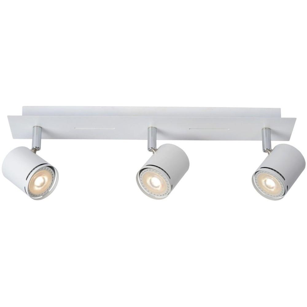 Reflektor sufitowy nowoczesny Rilou III Led Biały Lucide do kuchni, przedpokoju i sypialni.
