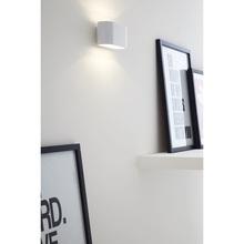 Kinkiet minimalistyczny Xera Biały Lucide do sypialni, salonu i przedpokoju.