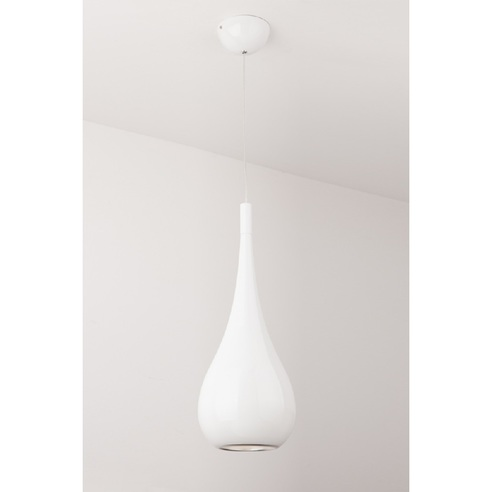 Lampa wisząca DROP  Biała