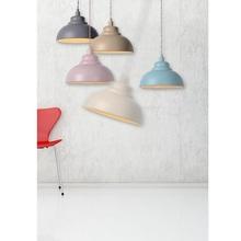Dekoracyjna Lampa wisząca Isla 29 Kremowa Lucide do salonu, sypialni i poczekalni.