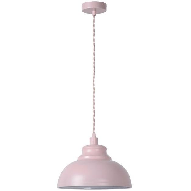 Dekoracyjna Lampa wisząca Isla 29 Różowa Lucide do salonu, sypialni i poczekalni.