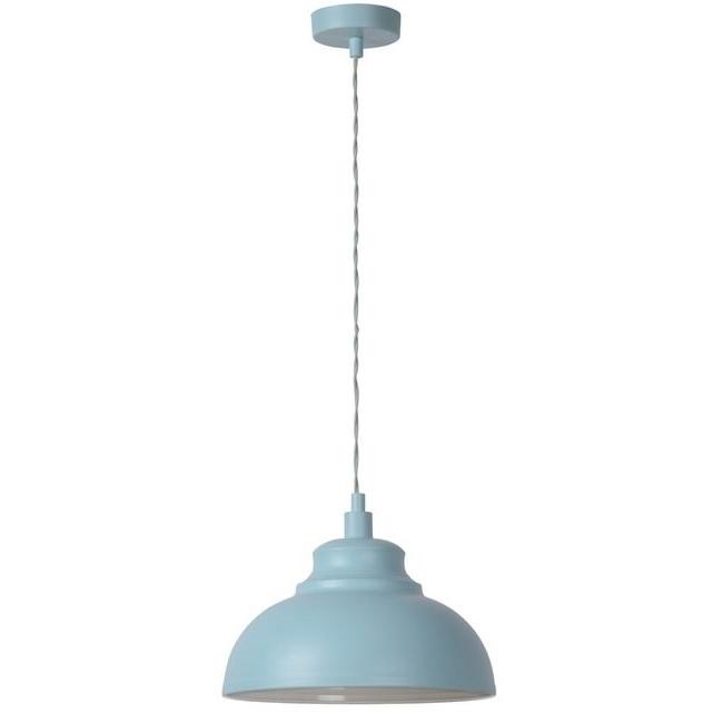 Dekoracyjna Lampa wisząca Isla 29 Niebieska Lucide do salonu, sypialni i poczekalni.