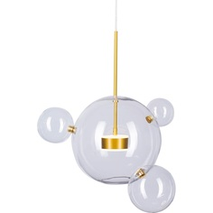 Lampa wisząca BUBBLES 3+1 złota Step Into Design