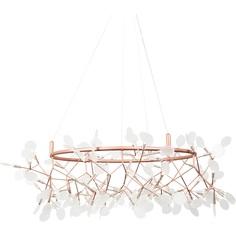 Lampa wisząca CHIC BOTANIC L biało miedziana Step Into Design