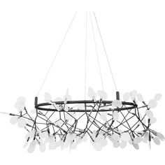 Lampa wisząca CHIC BOTANIC L czarna Step Into Design