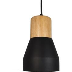 Lampa wisząca CONCRETE  czarna Step Into Design