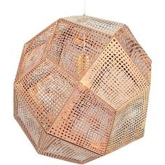Lampa wisząca FUTURI STAR miedziana Step Into Design