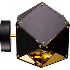 Lampa wisząca NEW GEOMETRY 1  czarno złota Step Into Design