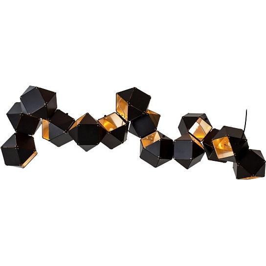 Lampa wisząca NEW GEOMETRY 14 czarno złota Step Into Design