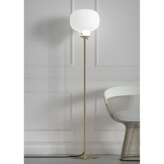 Lampa podłogowa  Raito biała DFTP