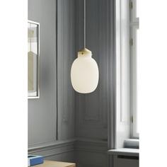 Lampa wisząca  Raito 22 oval biała DFTP