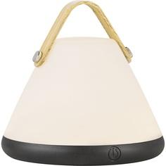 Lampa stołowa  Strap to Go biała/czarna DFTP