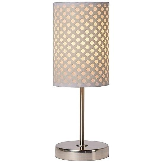 Lampa orientalna stołowa Moda 13 Biała Lucide do sypialni, salonu i na stół.
