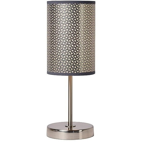 Lampa stołowa MODA srebrna