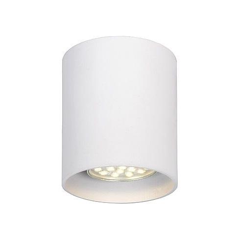 Lampa Spot tuba Bodi Okrągły Biały 8 Lucide do kuchni, przedpokoju i i salonu.