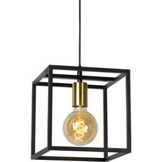 RUBEN lampa wisząca 1 czarny/mosiądz Lucide