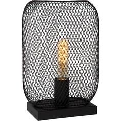 Druciana lampa stołowa Mesh Slim Lucide