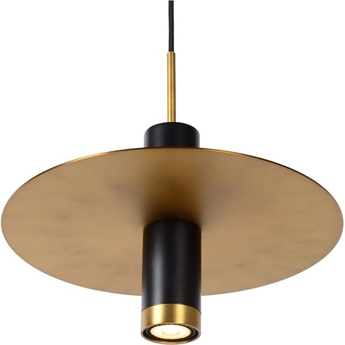 SELIN lampa wisząca czarny/mosiądz mat Lucide