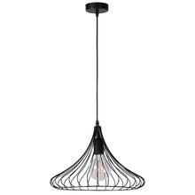 Dekoracyjna Lampa wisząca druciana Vinti 39 Czarna Lucide do salonu, sypialni i poczekalni.