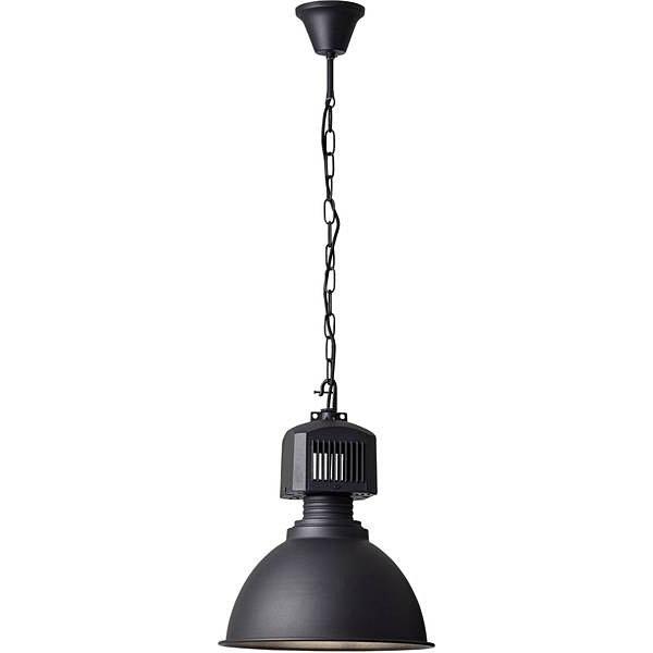 Lampa wisząca Blake 39 czarna Brilliant