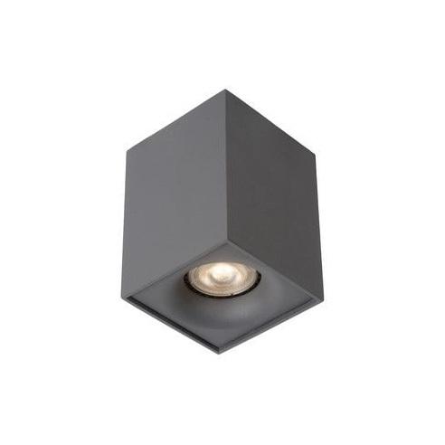 Lampa Spot Bentoo Led Szary Lucide do kuchni, przedpokoju i i salonu.