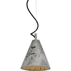 Lampa wisząca  KOBE 1 LoftLight oliwkowo-szara