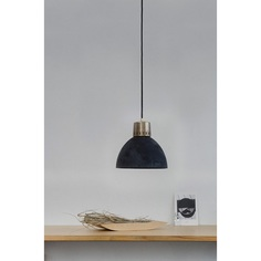 Lampa wisząca  Korta 1 LOFTLIGHT czarna mosiądz