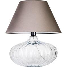 Lampa stołowa BRNO Szara 4Concepts