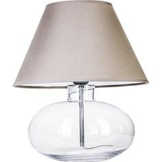 Lampa stołowa BERGEN Szara 4Concepts